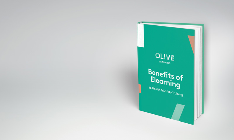 Olive Learning's Benefits of eLearning to health and safety training eBook image