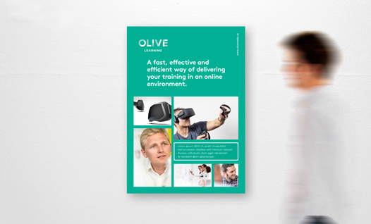 Olive Learning promotional banner