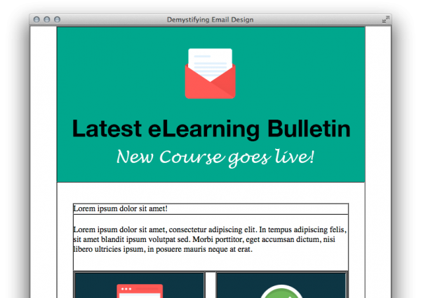 Olive Learning email template