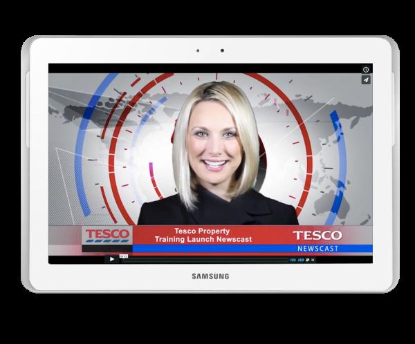 Tesco training launch