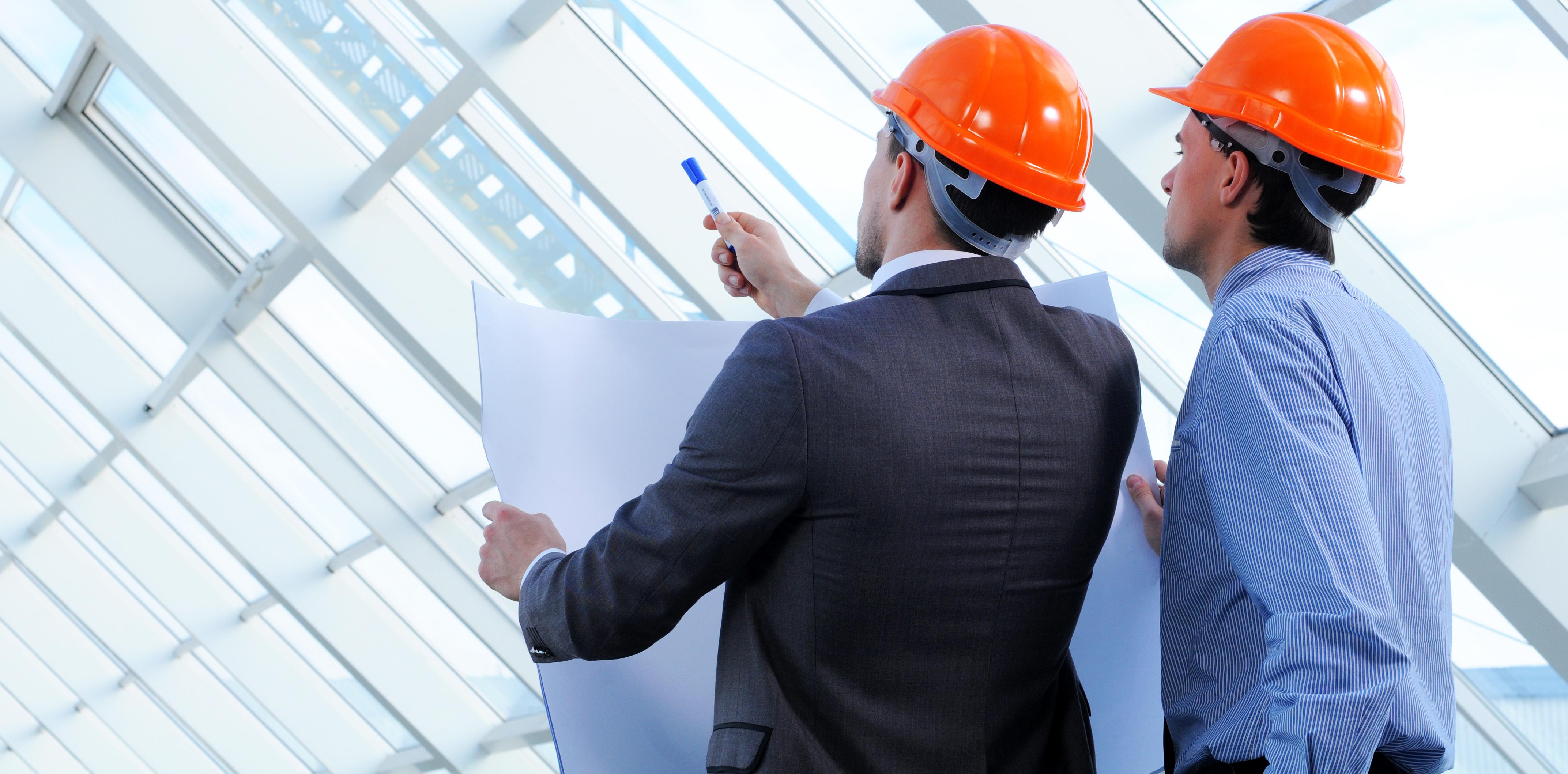 mercury engineering engineers reviewing building design