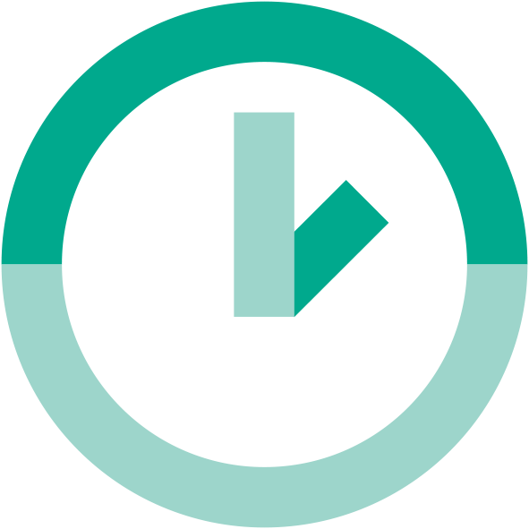 green clock icon